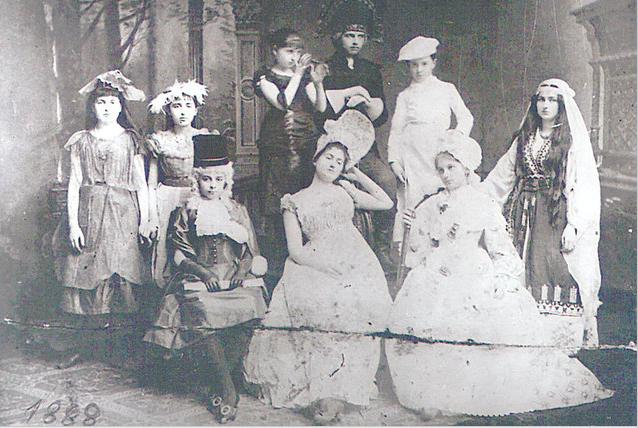 Un bal de la 1880