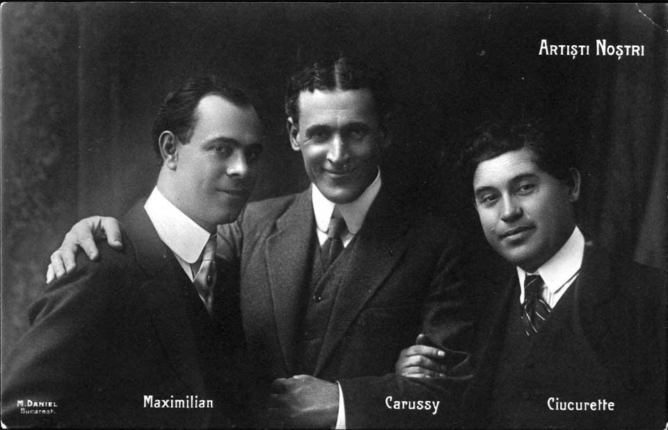 Trei dintre cei mai buni oameni ai companiei, Maximilian, Ciucurette şi Carussy