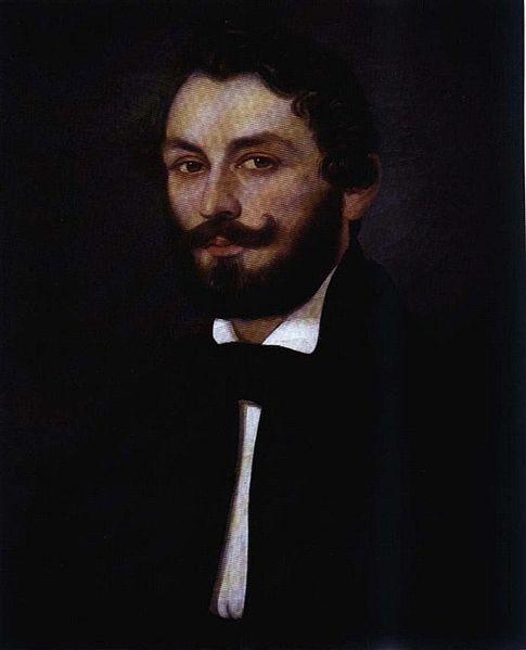 Constantin Lecca. Autoportret.
