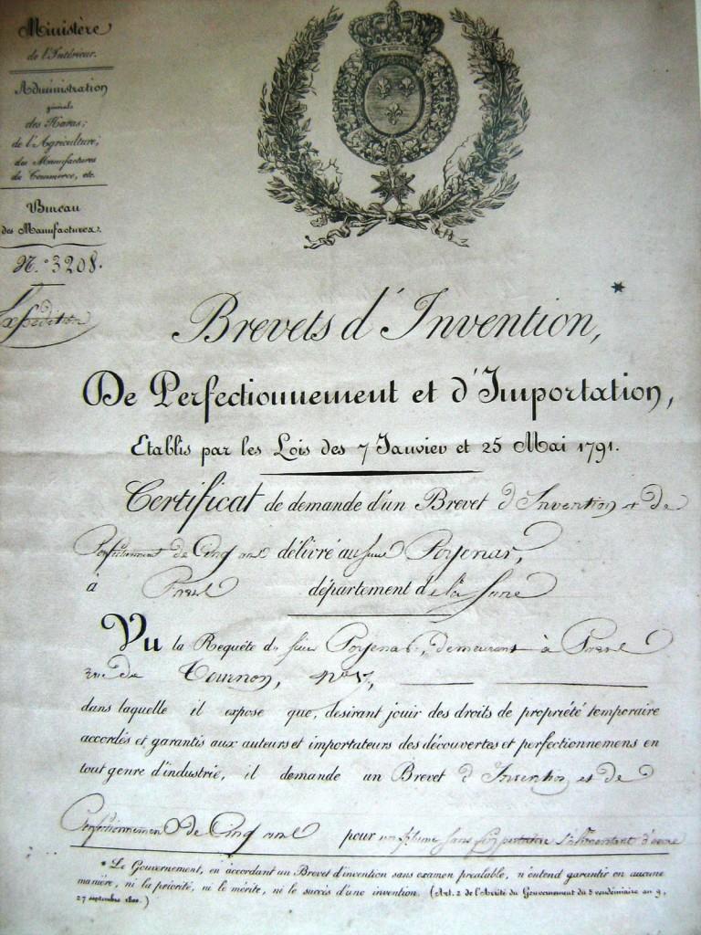 Brevetul lui Poenaru